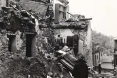 Torella dei Lombardi dopo il terremoto del 1980