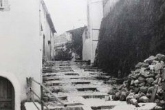 Stairs leading to the castle