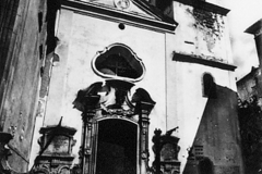 Santa Maria del Popolo church before earthquake of 1980